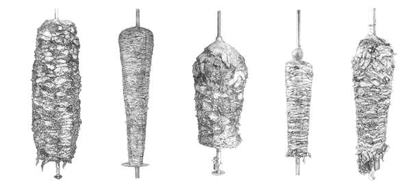 Silverized Meat Illustrations