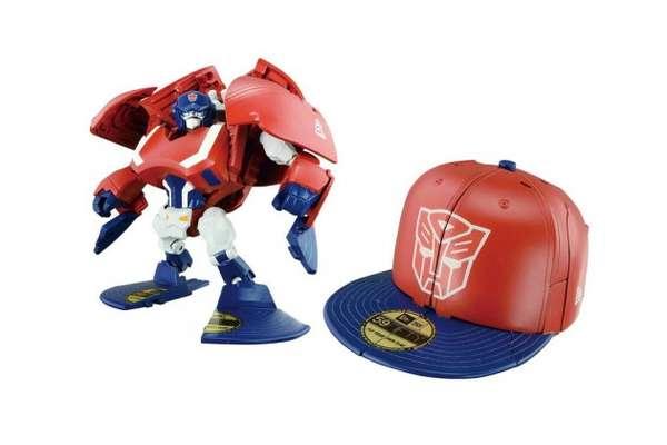 Transforming Robot Hats
