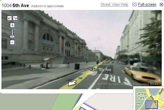 Google Street View