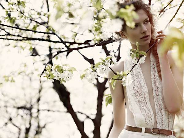 Angelic Outdoor Editorials