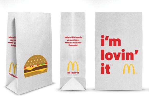 Minimalist Fast Food Packaging