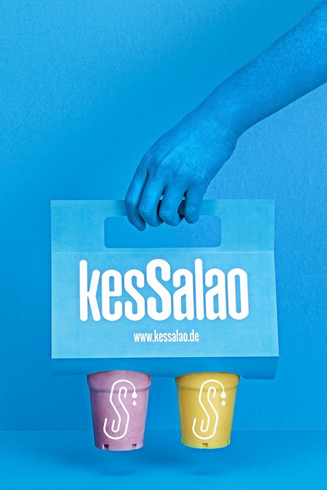 Vibrant Takeaway Packaging