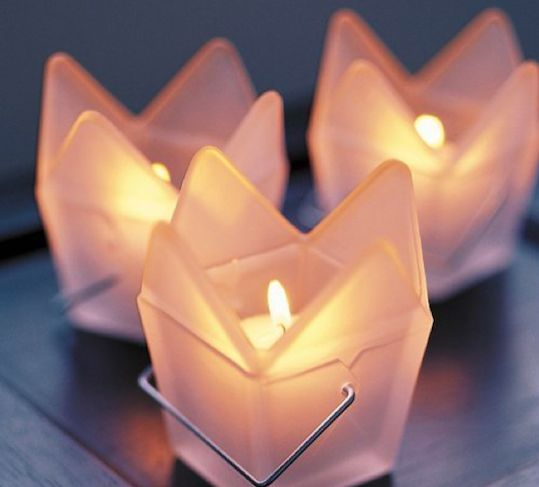 Asian Food Container Candles