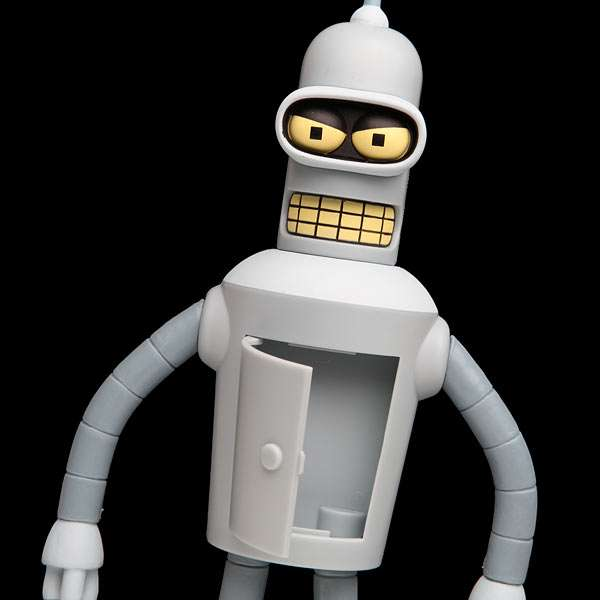 Talking Bender Action Figure