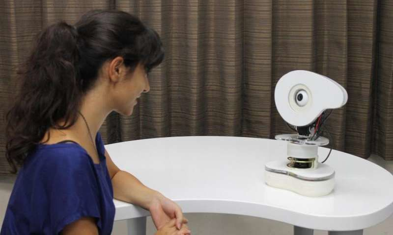 Attention-Seeking Talking Robots
