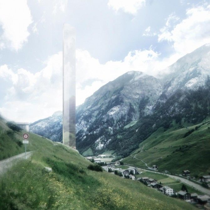 Alpine Skyscrapers