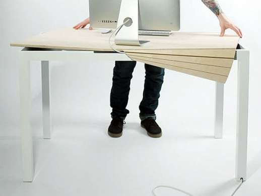 Contemporary Cable Workstations