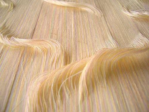 Stringy Hair Art