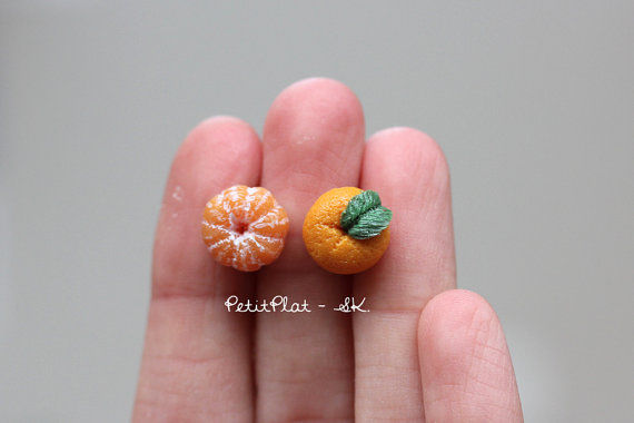 Charming Citrus Jewlery