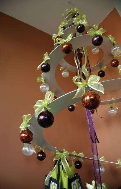 Spiral Christmas Trees