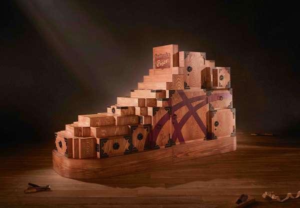 Wooden Sneakers