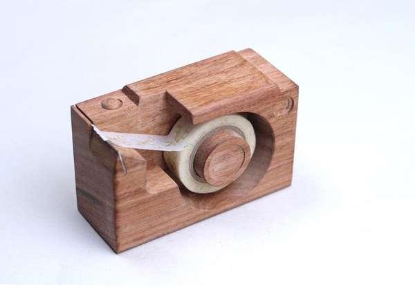 Camera-Inspired Tape Dispensers