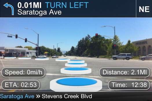 Futuristic Navigation Apps