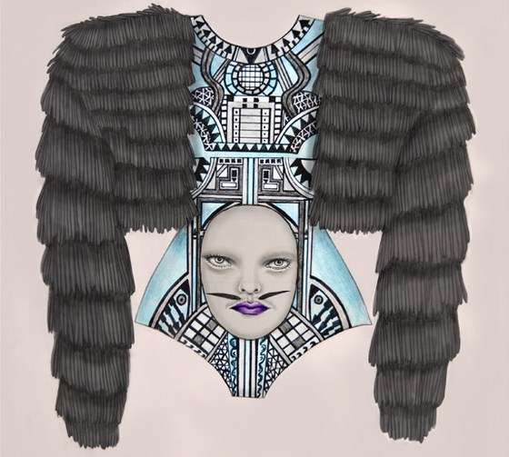 Freaky Fashion Illustrations
