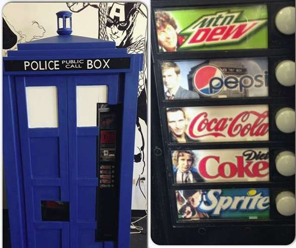 Tardis Telephone Box