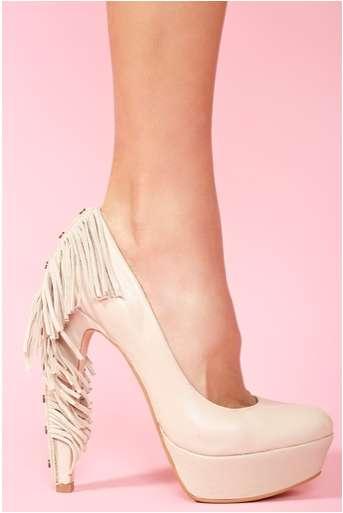 Towering Tasseled Kicks