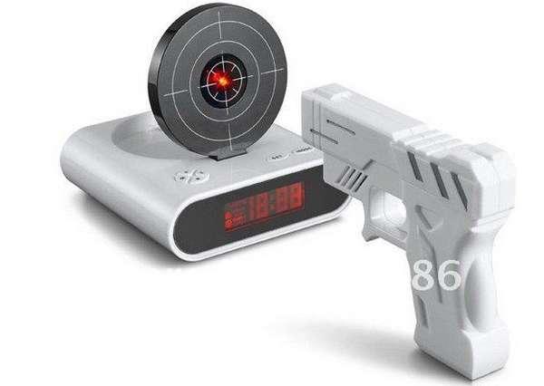 Target Practice Alarm Clocks