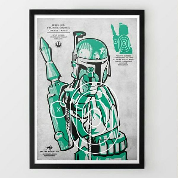Intergalactic Target-Training Posters