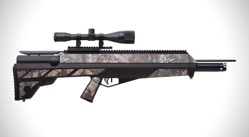 Camouflaged Bow Guns