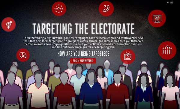 Targeting the Electorate Website