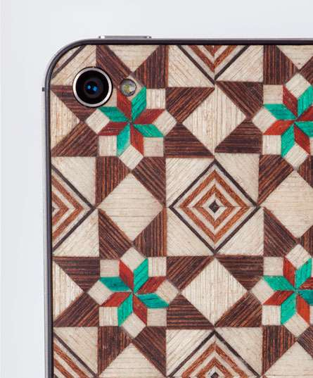 Timber Tiled Cell Cases