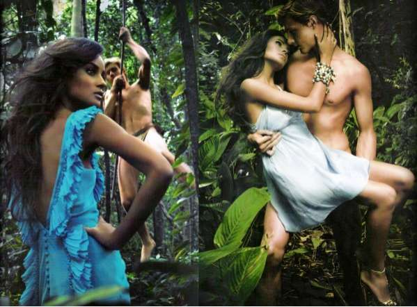Tarzan Fashion Editorials