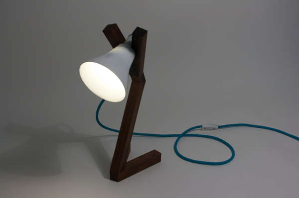 Y-Shaped Desk Lights