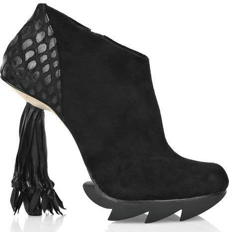 tassel heels shoes Skovegaard