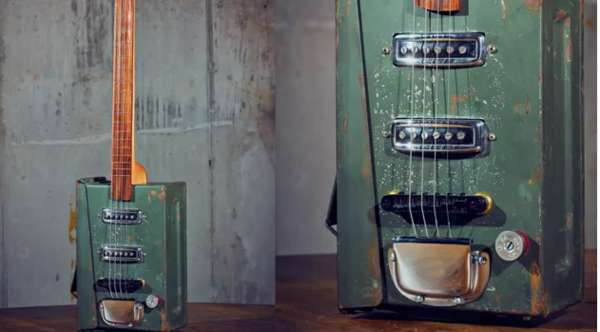 Electric Ammo Box Guitars