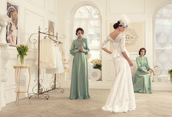 Bridal Boutique Fashion Ads