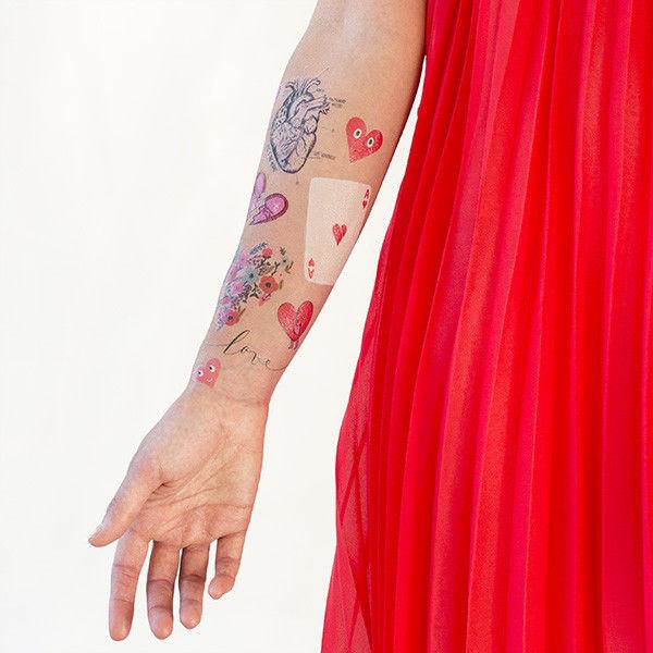 Romantic Temporary Tattoo Sets