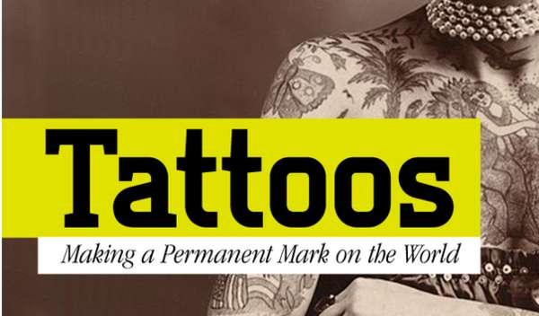 Evolutionary Tattoo Infographics