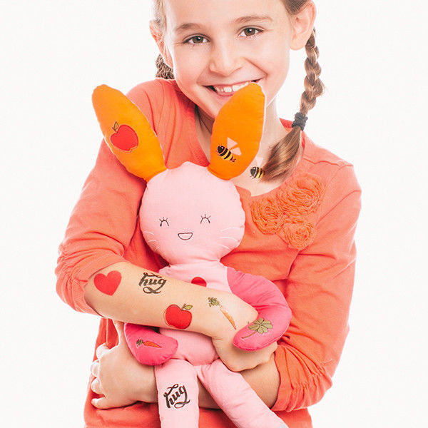 Quirky Plush Tattoo Toys