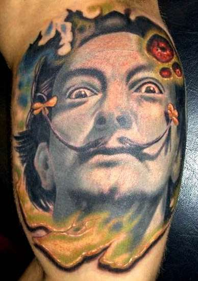 Surrealist Caricature Tattoos