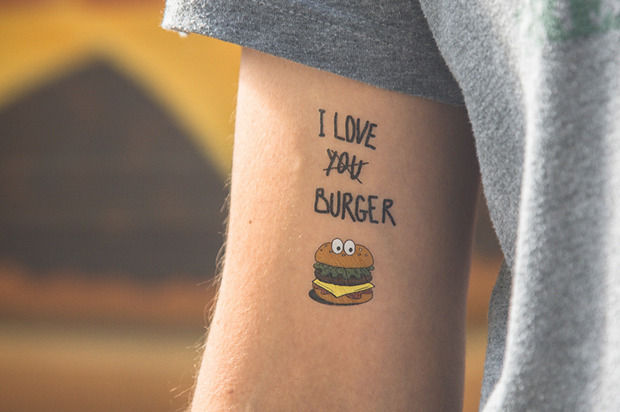 Pop Culture Temporary Tattoos