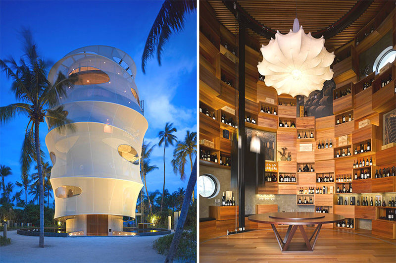 Towering Tropical Eateries