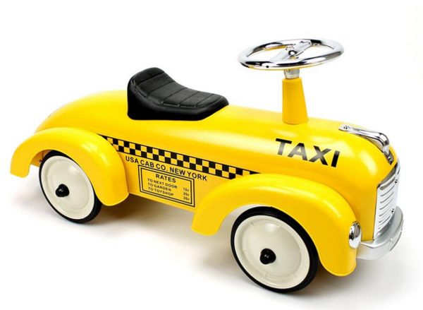 Retro Toddler Taxi Toys