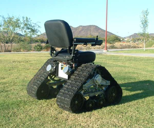 & Heavy-Duty Outdoor Wheelchairs : TC Mobility tank chair