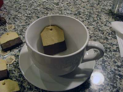 tea bag cookie