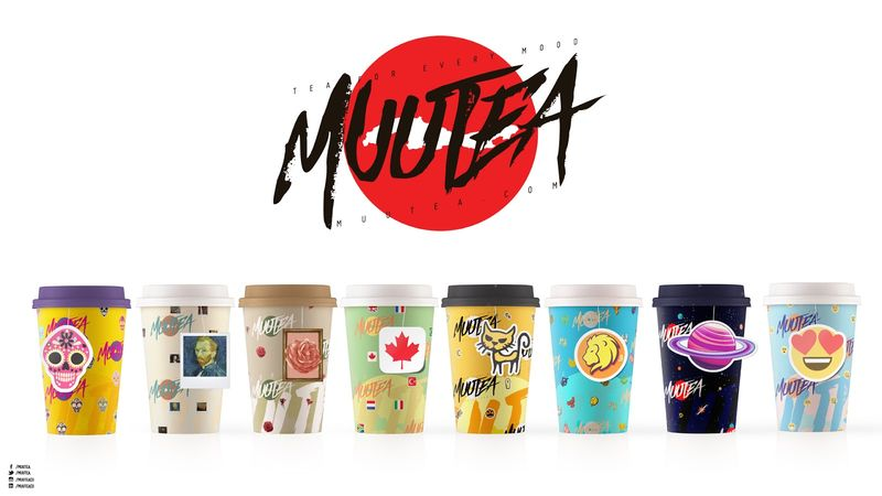 Vividly Graphic Tea Brands