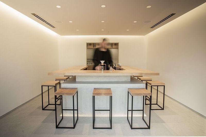 Hand-Drip Tea Cafes
