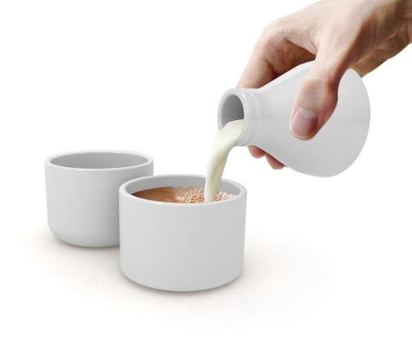 Milk Bottle Tea Sets