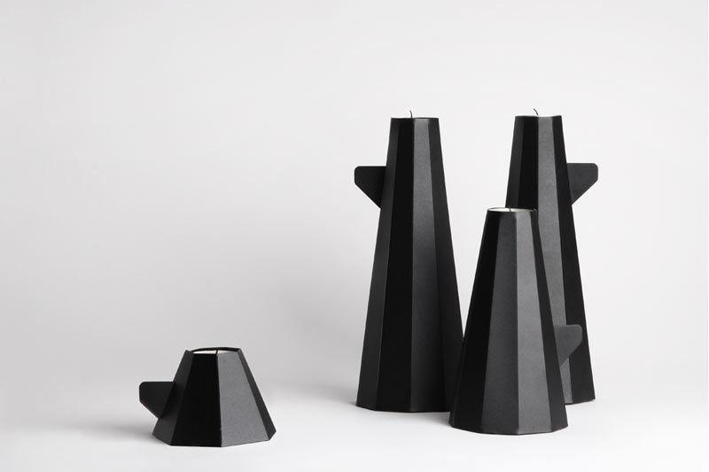 Foldable Pillar Tea Lights