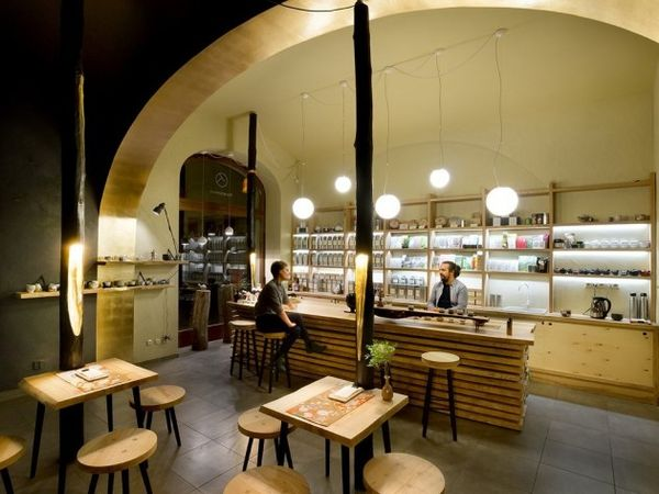 Modern Cave Cafes Tea Mountain