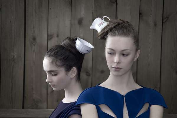 Tea Pot Topknots