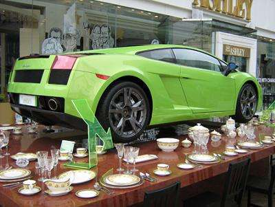 Tea Time With A Lamborghini