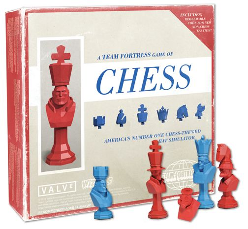 Team Fortress 2 Chess Set