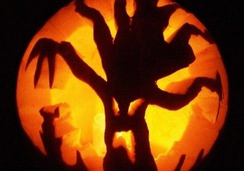 Team Pumpkin Carving