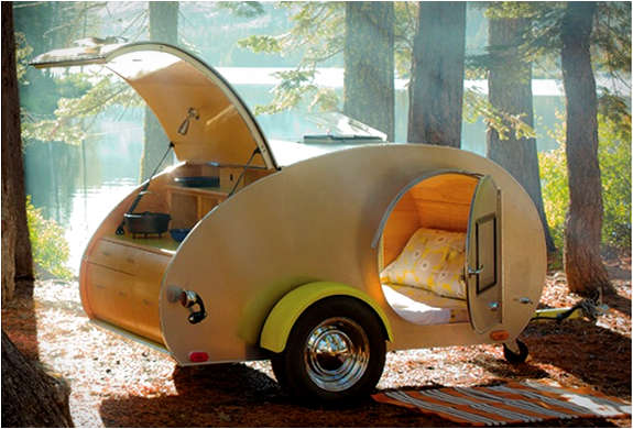 Elegant  Campers Build Your Own Rv With Kits Amp Plans For Teardrop Trailers