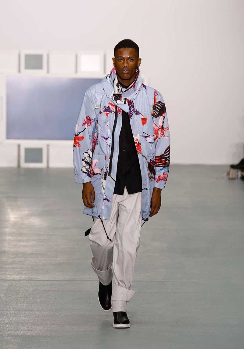 Hummingbird-Patterned Menswear